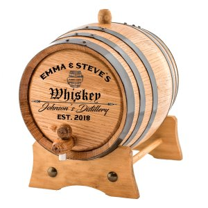 Whiskey Barrel home aging