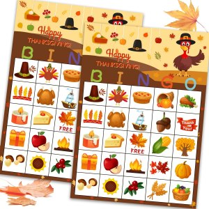 Funnlot Thanksgiving bingo