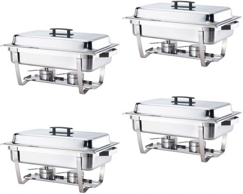 Alpha Living Stainless Steel Chafing Dish Set