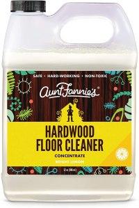 Best hardwood floor cleaners aunt fannies