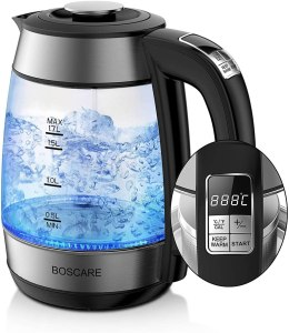 Boscare electric tea kettle