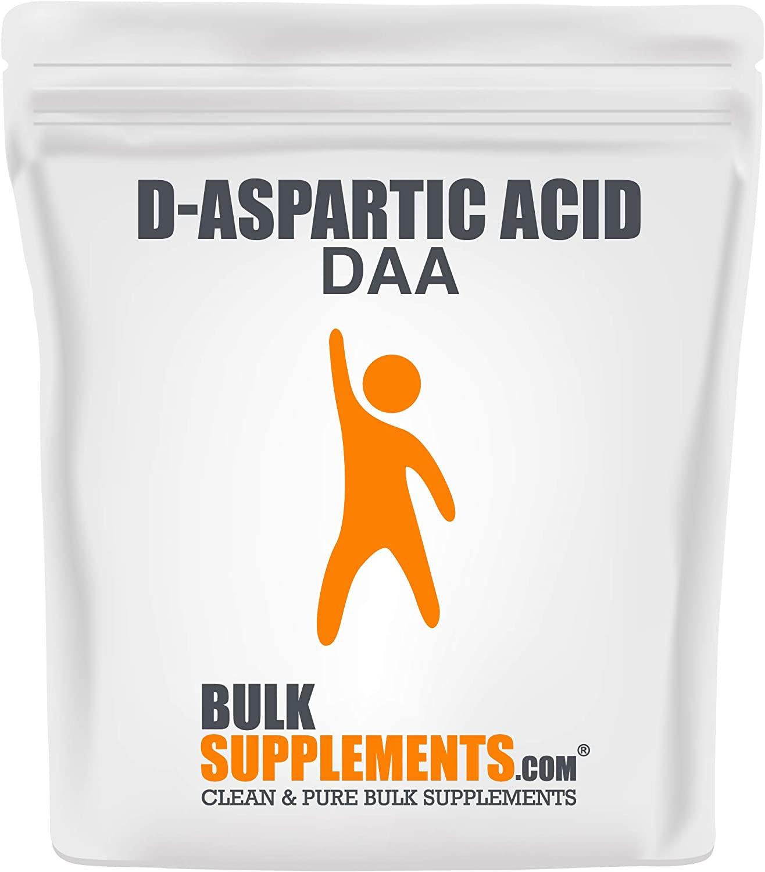 BulkSupplements D-Aspartic Acid Powder Supplement