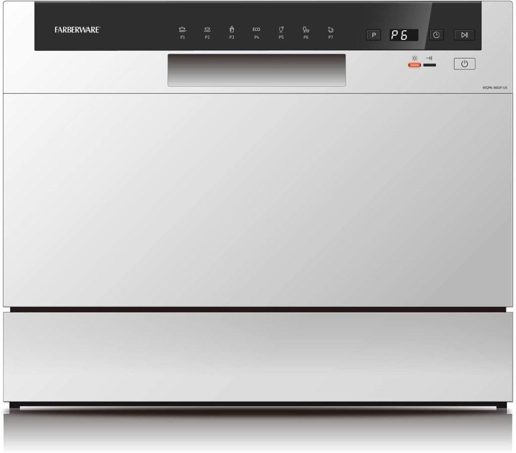 Farberware Professional Compact Portable Countertop Dishwasher