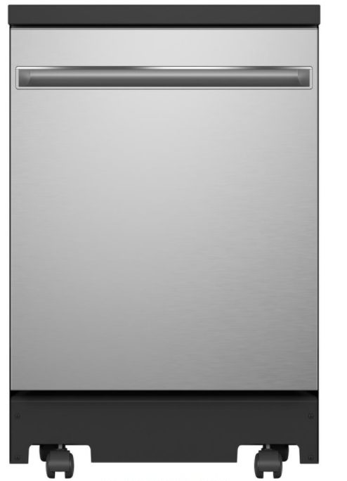 GE Portable Dishwasher with 12 Place Settings