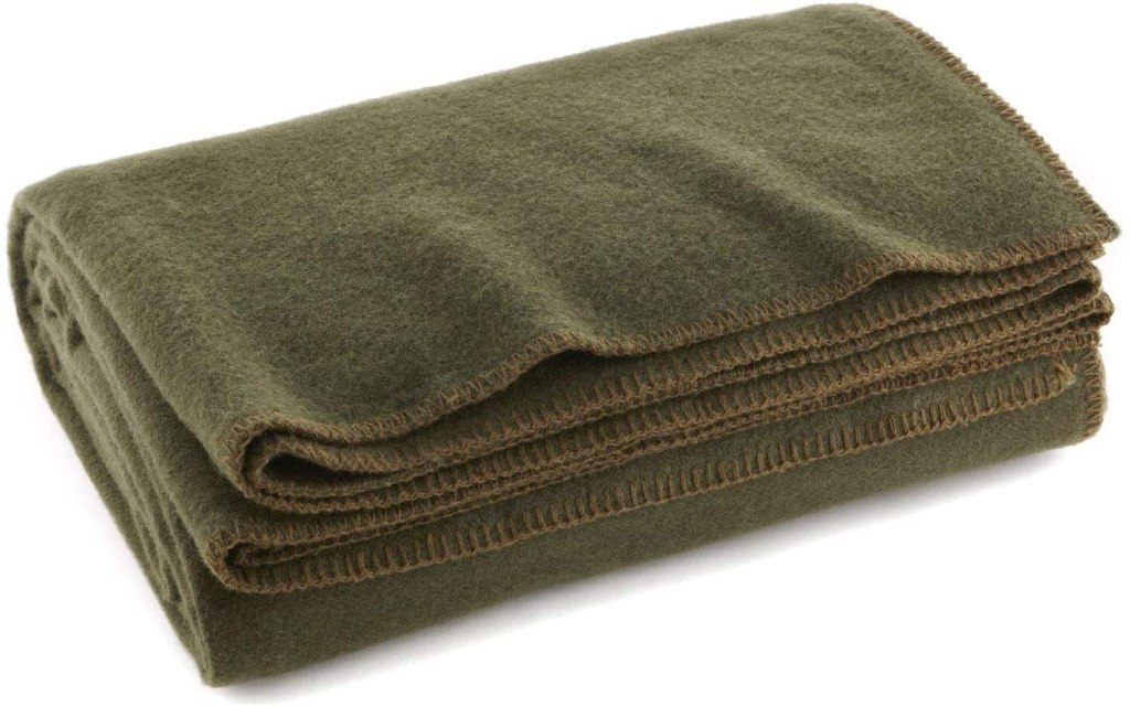 Ever Ready First Aid Wool Fire Retardant Blanket