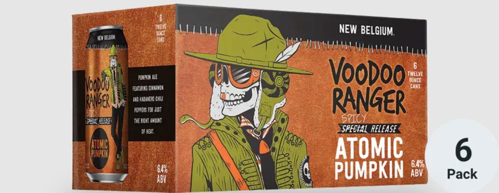 best pumpkin beer new belgium voodoo atomic