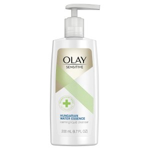 Olay Sensitive Facial Cleanser with Hungarian Water Essence
