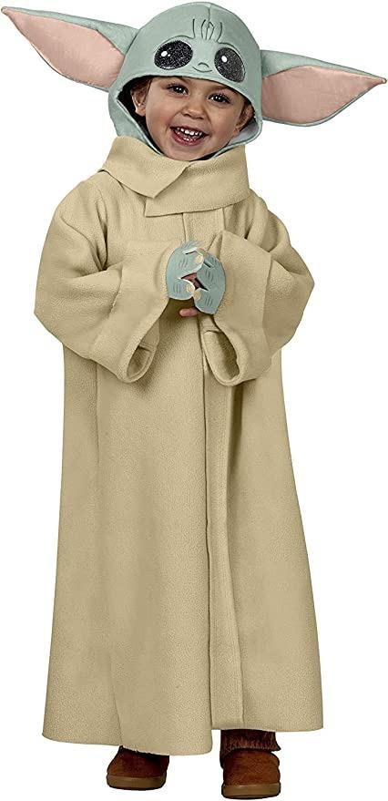 Rubie's Baby Star Wars The Mandalorian The Child Costume, family halloween costumes 2021