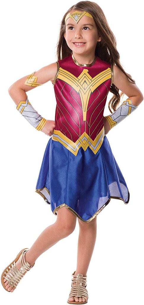 Rubie's Justice League Child's Wonder Woman Costume