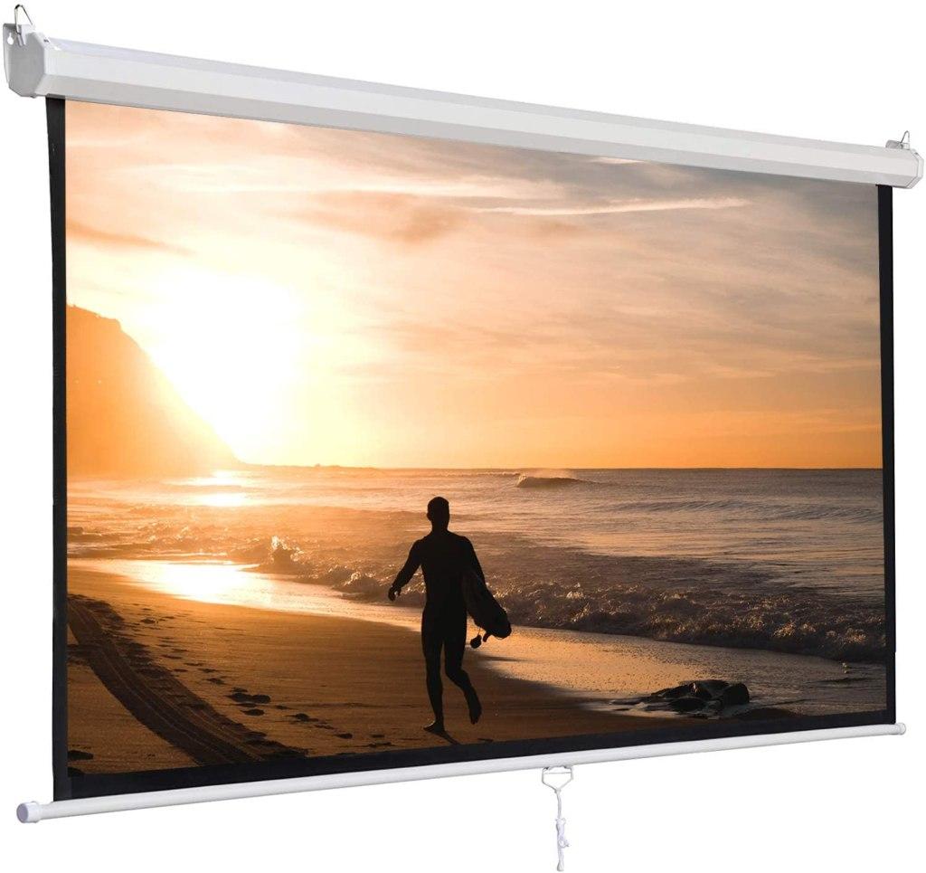 SUPER DEAL 120'' Projector Screen
