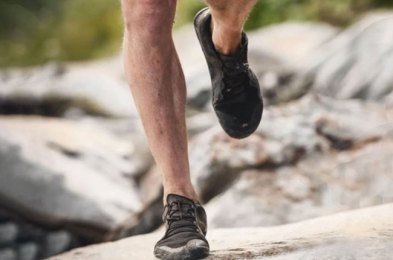 feel the ground beneath your feet with these barefoot running shoes