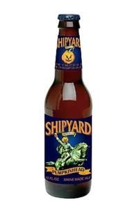 shipyard seasonal pumpkin beer