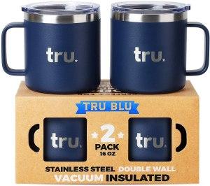 tru blue steel mug