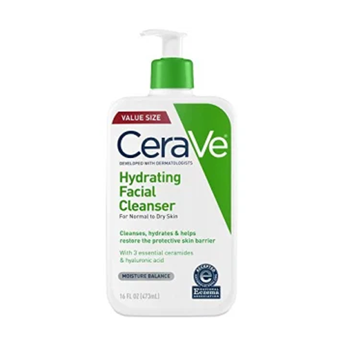 face wash for sensitive skin CeraVe Hydrating Face Wash