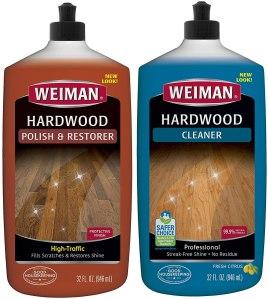 weiman hardwood floor cleaner