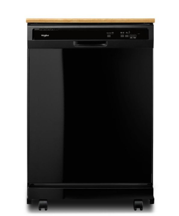 Whirlpool Front Control Heavy-Duty Portable Dishwasher