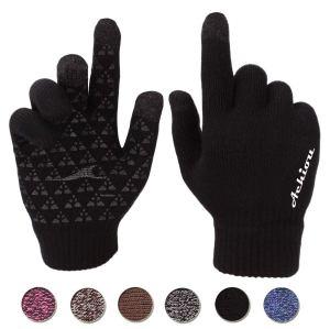 Achiou Winter Knit Gloves