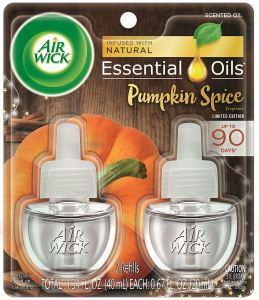 Air Wick Pumpkin Spice Plug In Scented Oil