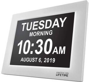 American Lifetime Day Clock