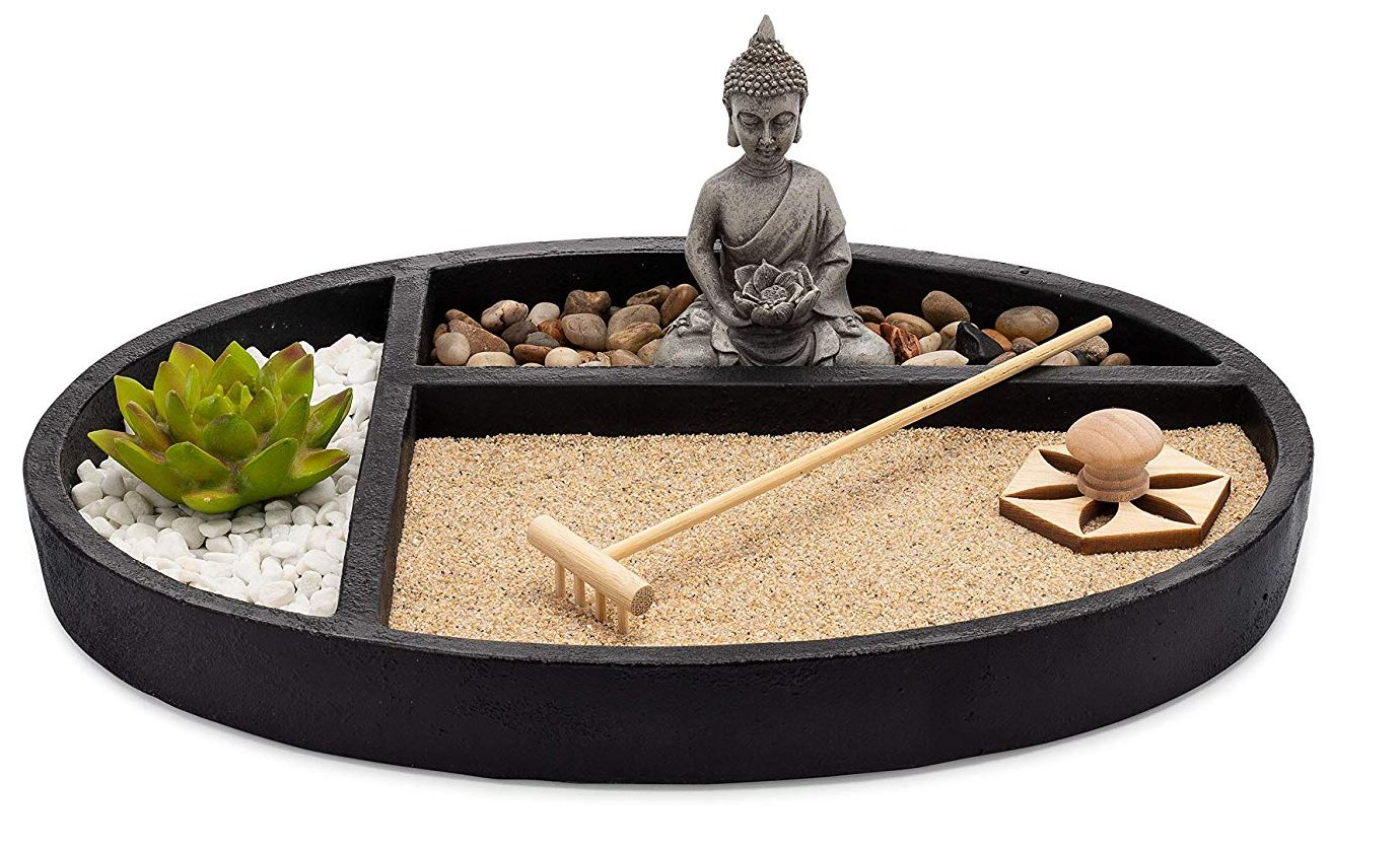 Asana Living Desktop Zen Sand Garden - Best Gifts for Him 2019