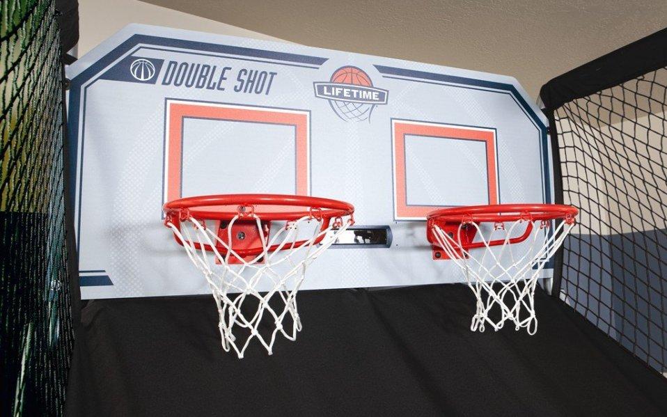 Basketball home arcade set
