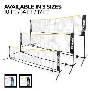 boulder portable badminton net