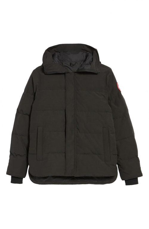 canada goose macmillan slim fit hooded down jacket