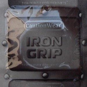 condoms for her pleasure caution wear iron grip snugger fit