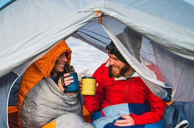 camping doesn't mean forgoing coffee thanks to these mugs