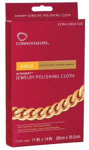 Connoisseurs Gold Polishing Cloth