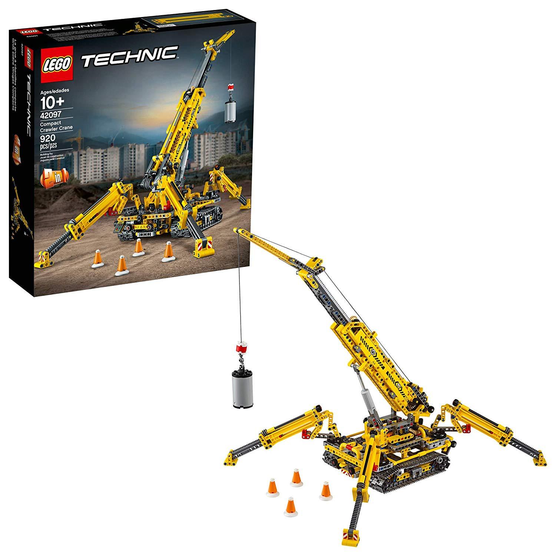 best lego sets crawler crane technic