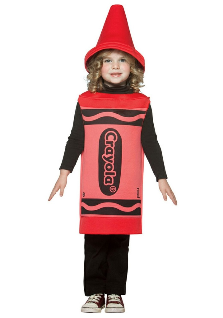 family halloween costumes crayons