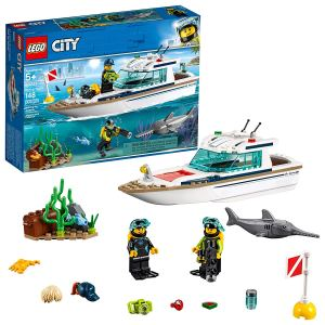 best lego sets diving yacht city