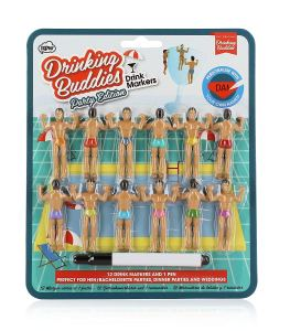 Drinking buddies party favor