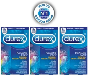 condoms for her pleasure durex pleasure pack