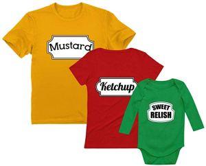 family halloween costumes ketchup mustard relish