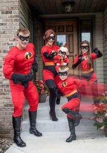 family halloween costumes incredibles