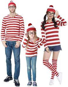 family halloween costumes where's waldo
