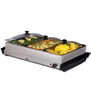 Elite Platinum Maxi-Matic 3 Tray Buffet Server