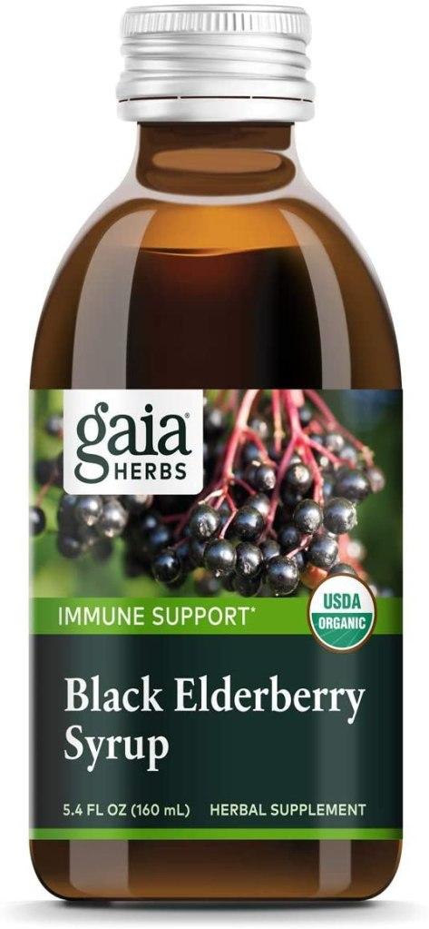 Gaia Herbs Black Elderberry Syrup
