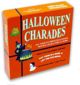 halloween party games for adults charades