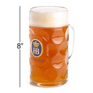 HB beer mug