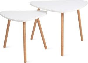 HOMFA Nesting Coffee End Tables