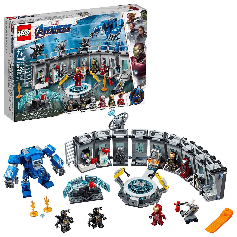 best lego sets iron man avenger