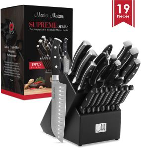 best kitchen knife sets on amazon master maison