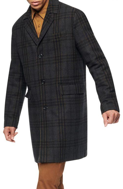 Marc New York Willemstad Plaid Winter Coat