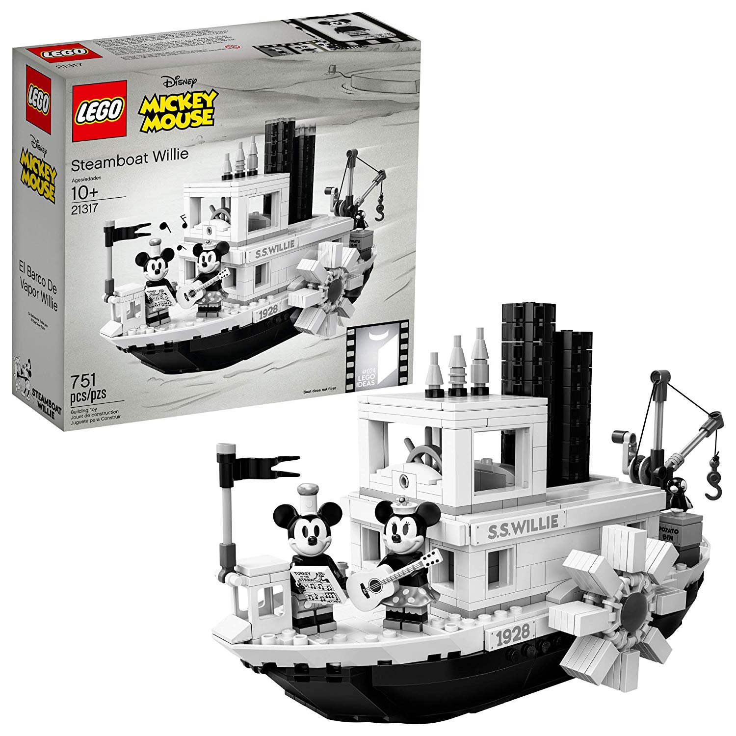 best lego sets mickey mouse steamboat willie