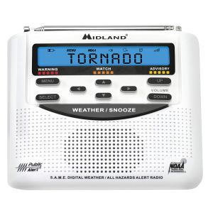 Midland NOAA Emergency Weather Alert Radio