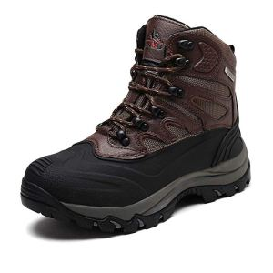 NORTIV 8 Men's Waterproof Winter Hiking Snow Boots
