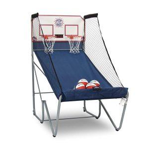 Pop a shot electronic basketball